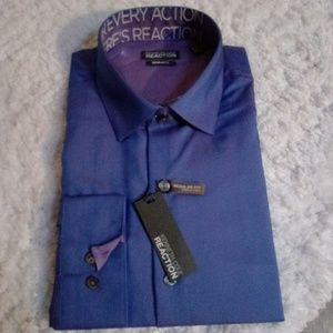 🆕List NWT KCR Periwinkle Blue Dress Shirt
